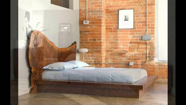 sơn giường gỗ