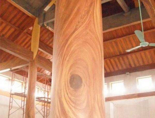 kĩ thuật sơn giả vân gỗ